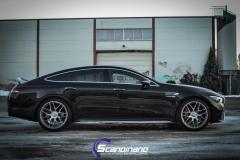 Mercedes-AMG GT foliert med lakkbeskyttelsesfilm-3