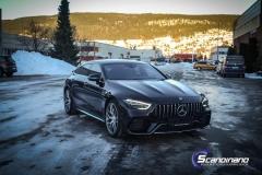 Mercedes-AMG GT foliert med lakkbeskyttelsesfilm-4