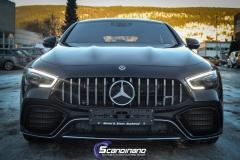 Mercedes-AMG GT foliert med lakkbeskyttelsesfilm-6