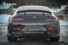 Mercedes-AMG GT foliert med lakkbeskyttelsesfilm-7
