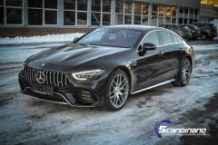Mercedes-AMG GT foliert med lakkbeskyttelsesfilm-8