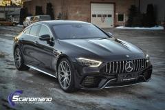 Mercedes-AMG GT foliert med lakkbeskyttelsesfilm-9