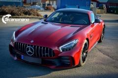 Mercedes AMG GTR Foliert i Scandinano_-10