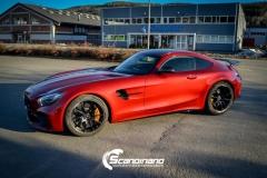 Mercedes AMG GTR Foliert i Scandinano_-11