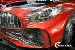 Mercedes AMG GTR Foliert i Scandinano_