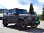 Mercedes Benz G Class AMG helfoliert med Matt Diamond Black fra PWF