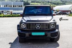 Mercedes-Benz G-Class AMG helfoliert med Matt Diamond Black fra PWF-10