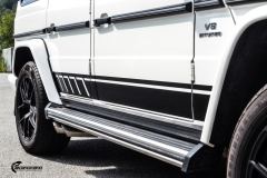 Mercedes-Benz G-Klasse decor black stripe-3