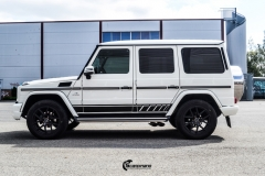 Mercedes-Benz G-Klasse decor black stripe-4