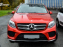 Mercedes-Benz GLE helfoliert i Ruby Red fra PWF