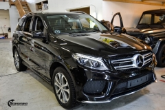 Mercedes-Benz GLE helfoliert i Ruby Red fra PWF (1 из 8)