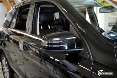 Mercedes-Benz GLE helfoliert i Ruby Red fra PWF (2 из 8)