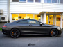 Mercedes-Benz S-Class Coupe AMG helfoliert i Matt Diamond Black fra PWF