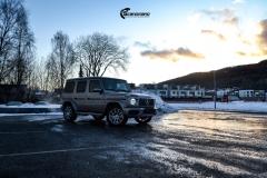 Mercedes G Class helfoliert i lakkbeskyttelsesfilm fra STEK-11