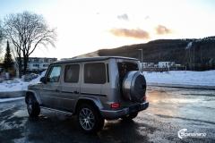 Mercedes G Class helfoliert i lakkbeskyttelsesfilm fra STEK-5