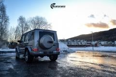 Mercedes G Class helfoliert i lakkbeskyttelsesfilm fra STEK-6