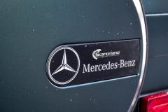 Mercedes G Class helfoliert i Matt Smaragd Metallic fra PWF-15