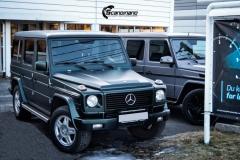 Mercedes G Class helfoliert i Matt Smaragd Metallic fra PWF-4