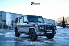 Mercedes G Class helfoliert i NardoGrau fra PWF