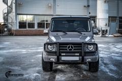 Mercedes G Class helfoliert i NardoGrau fra PWF-2