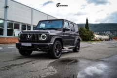 Mercedes G Class helfoliert med Matt Diamond Black fra PWF-13