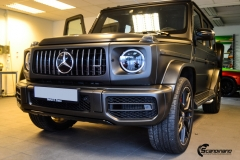 Mercedes G Class helfoliert med Matt Diamond Black fra PWF-2