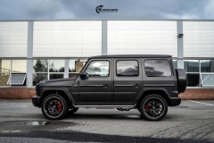 Mercedes G Class helfoliert med Matt Diamond Black fra PWF-3