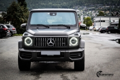 Mercedes G Class helfoliert med Matt Diamond Black fra PWF-4