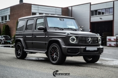Mercedes G Class helfoliert med Matt Diamond Black fra PWF-5