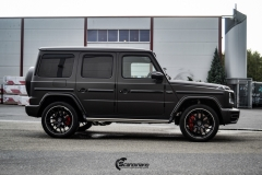 Mercedes G Class helfoliert med Matt Diamond Black fra PWF-6