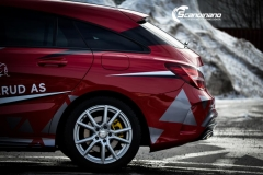 Mercedes CLA design foliert Scandinano_-12