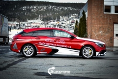 Mercedes CLA design foliert Scandinano_-6