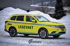 Mitsubishi legevakt foliert yellow scandinano_-3