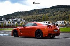 Nissan GT-R helfoliert med Gloss liquid cooper fra 3M