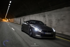 Nissan GTR black matte chrome-11