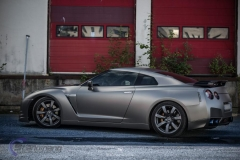 Nissan GTR black matte chrome-4