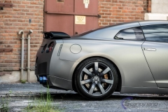 Nissan GTR black matte chrome-6