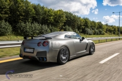Nissan GTR black matte chrome-8