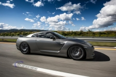 Nissan GTR black matte chrome-9