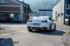 Nissan gtr white diamant-4