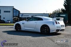 Nissan gtr white diamant-6