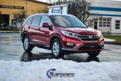 Ny-Honda-CRV-foliert-i-burgunderrød-krom-Scandinano_-9