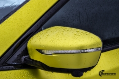 Nye Nissan X-TRAIL helfoliert i Matt Yellow Flash fra PWF-11