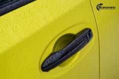 Nye Nissan X-TRAIL helfoliert i Matt Yellow Flash fra PWF-12