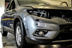 Nye Nissan X-TRAIL helfoliert i Matt Yellow Flash fra PWF
