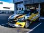 Opel Corsa foliert med camo for automobil kompaniet AS Drammen