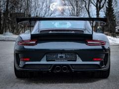 Porsche 911 GT3 RS helfoliert i lakkbeskyttelsesfilm fra STEK-5