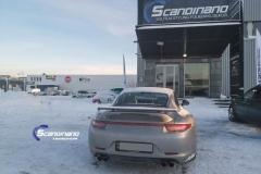 Porsche 911 Helfoliert med print folie.--13