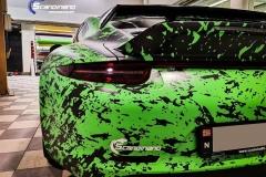Porsche 911 Helfoliert med print folie.--19
