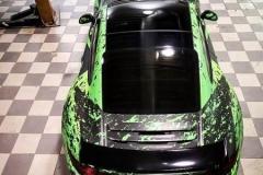 Porsche 911 Helfoliert med print folie.--2